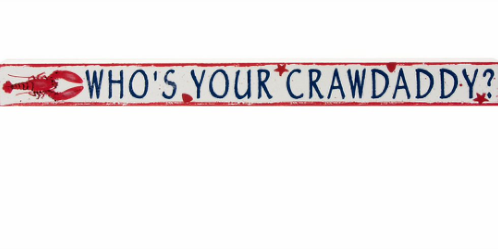 CRAWDADDY'S DAY - ALL YOU CAN EAT CRAWFISH!