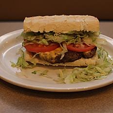 Cheeseburger Po-Boy