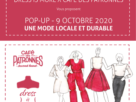DRESS IS MORE X  CAFE DES PATRONNES