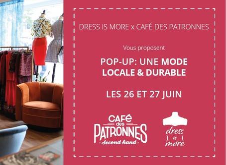 Nouvelles dates! Pop-Up Dress is More