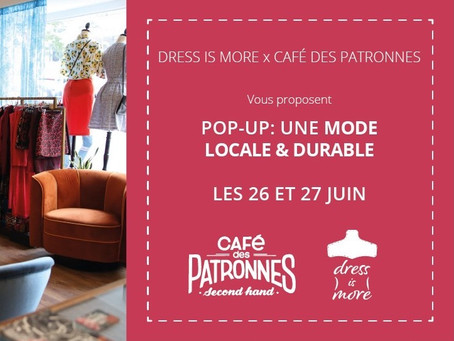 Nouvelles dates! Pop-Up Dress is More