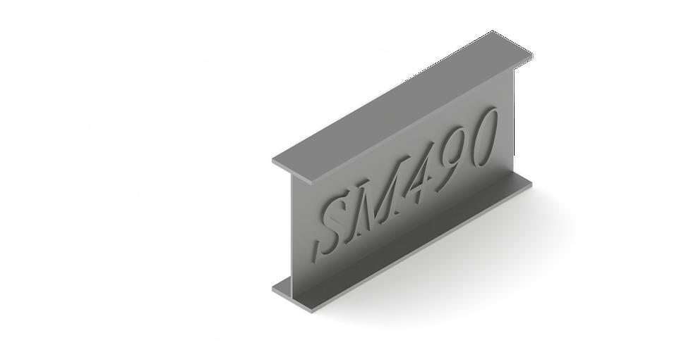 เหล็ก SM490 RCK รุ่งเจริญ
