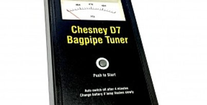 Chesney D7 Bagpipe Tuner