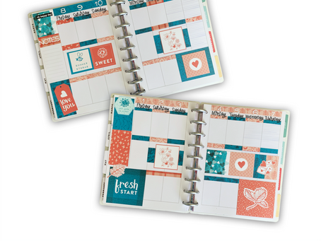 Planner Layouts - Thoughtful Studio