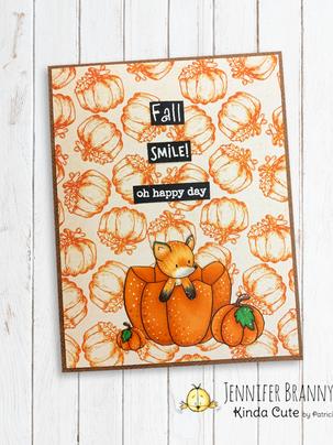 Fall Fox - Kinda Cute Digis