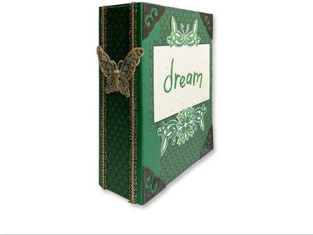 Emerald Tessa - Trinket Book Box - Thoughtful Studio