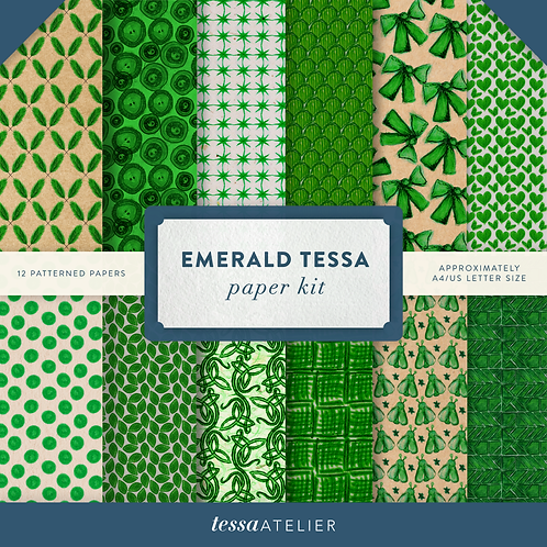 Emerald Tessa - PHYSICAL PAPER KIT