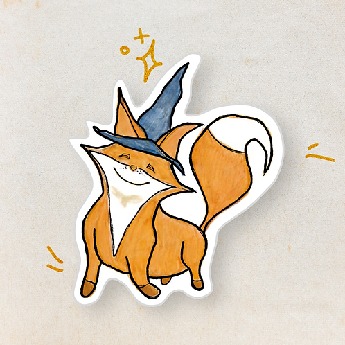 Bitsy the Magic Fox - Sticker Sheet