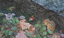 Springtime Treasures - Chipmunk