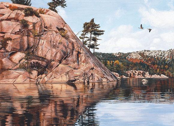 Granite Passage - Canada Geese