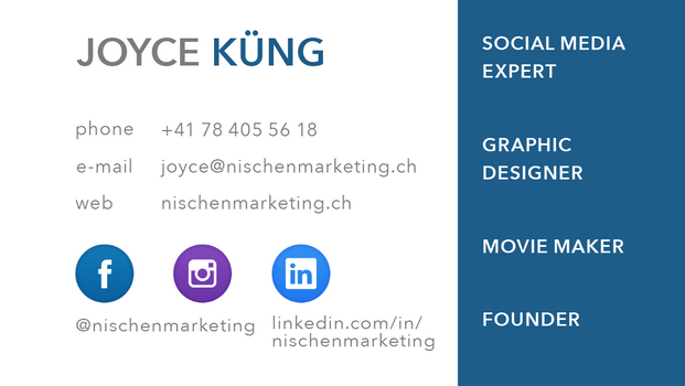 Businesscard Back