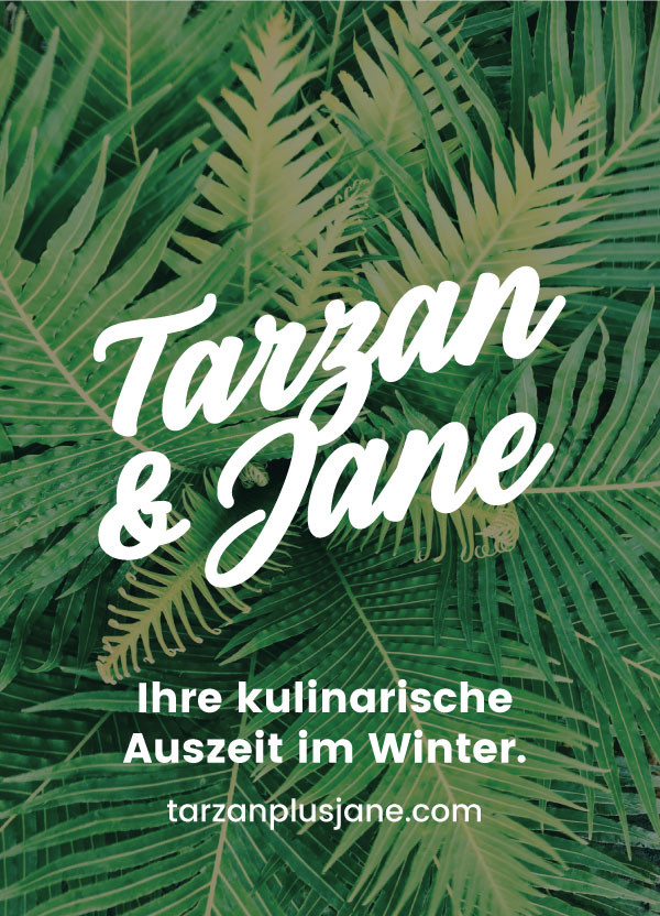 Postkarte für Tarzan & Jane