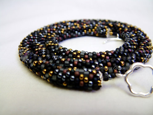 Bead Crochet Necklace, Fantasia Breaking Dawn