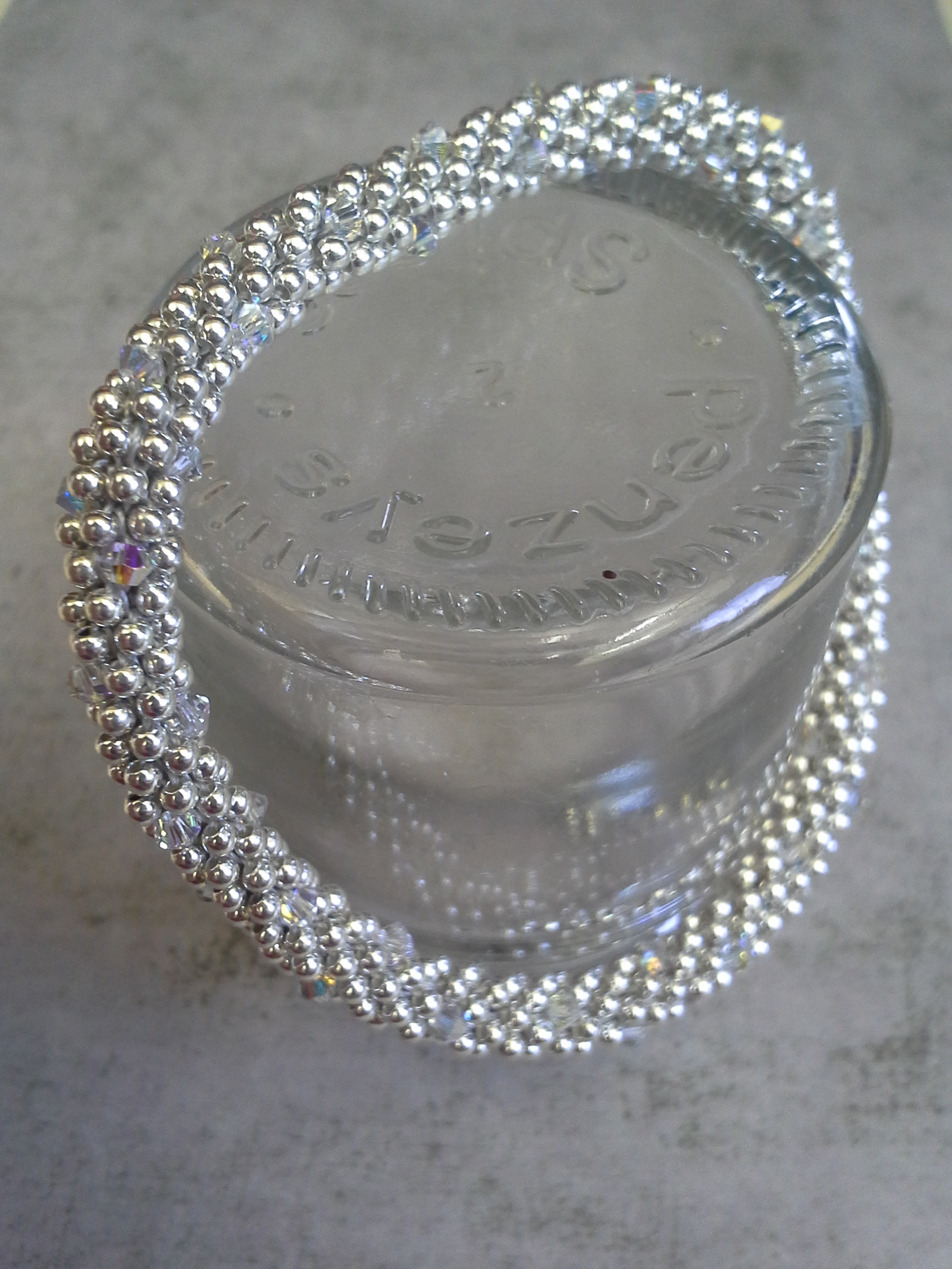 Sterling Silver and Swarovski Crystal bracelet