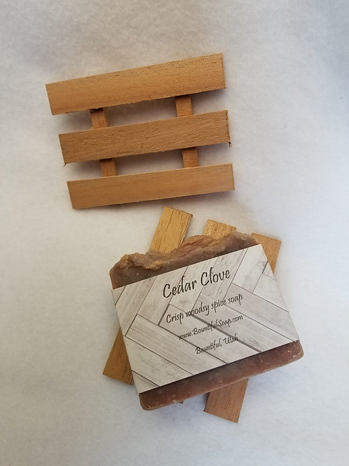 Cedar Soap Dish