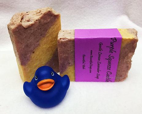 Spring Soap Purple Squeeze Castile Lemon Lavender