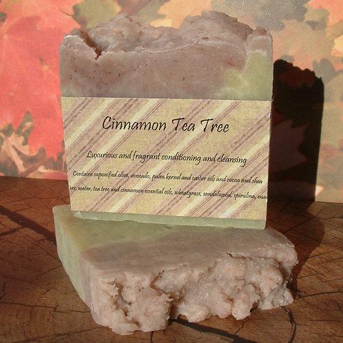 Preorder for Cinnamon Tea Tree Soap