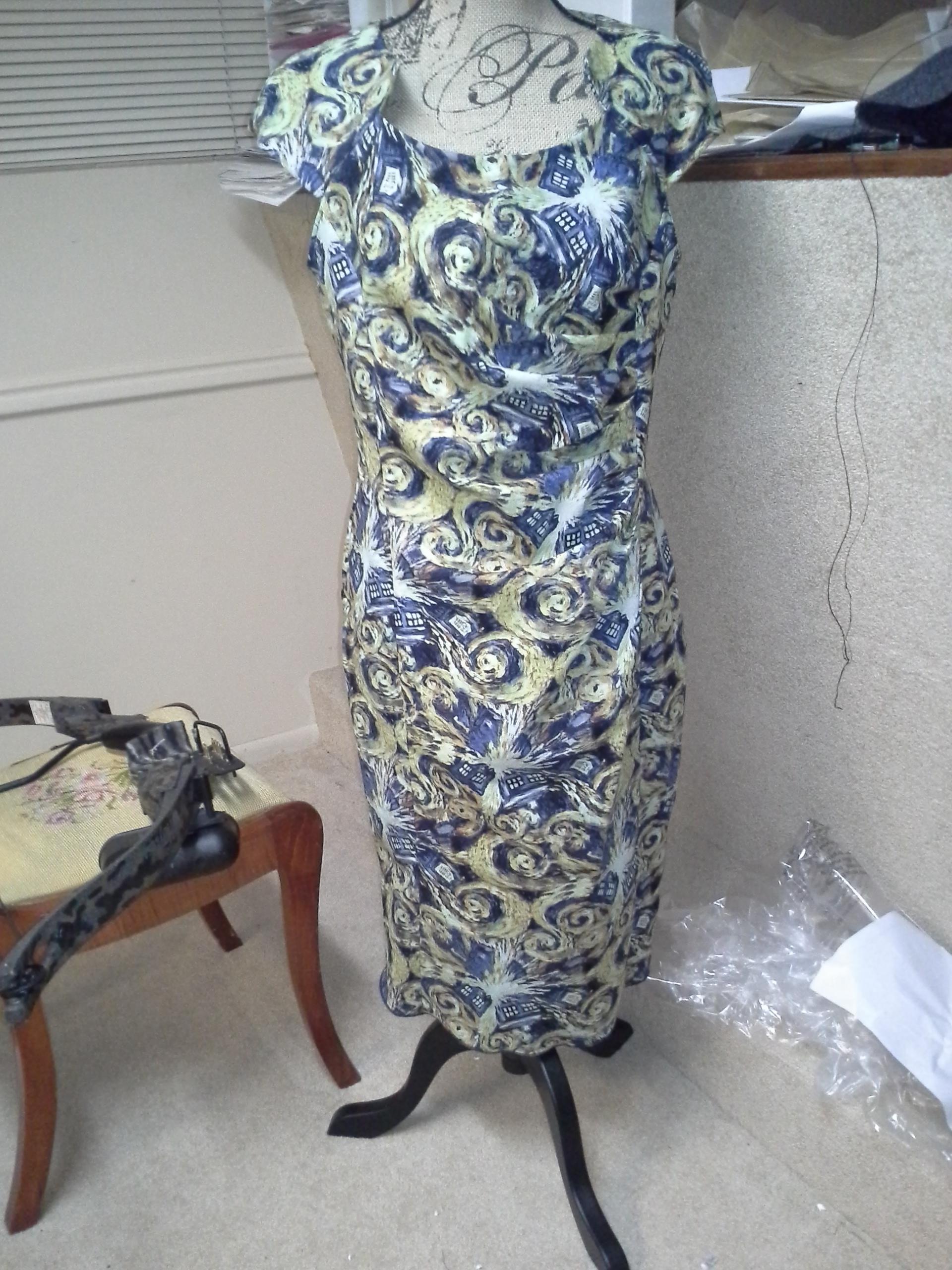 Exploding Tardis dress