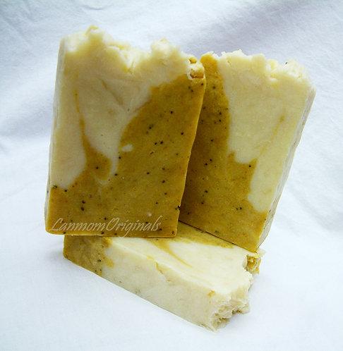 Spring Soap Lemon Poppyseed