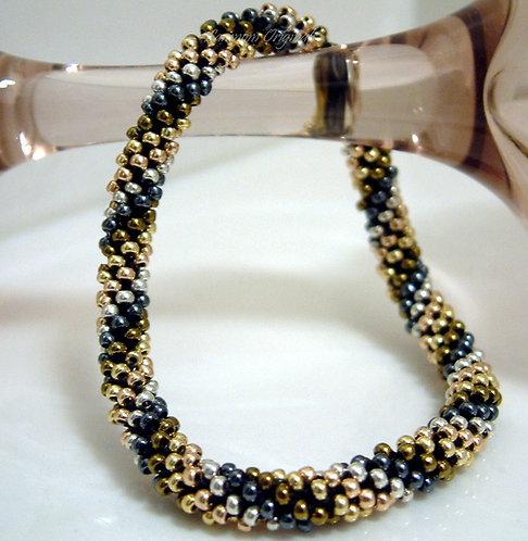 Bead Crochet Bracelet, SuperBling