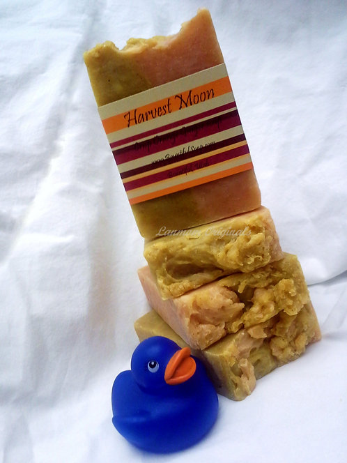 Autumn Soap Harvest Moon Gingergrass Orange