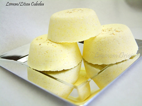 Mini Bath Bombs, Lemon/Litsea Cubeba
