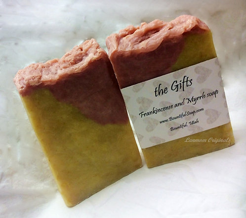 Winter Soap the Gifts Frankincense and Myrrh