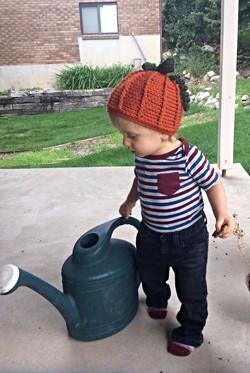 Pumpkin Hat 12mo