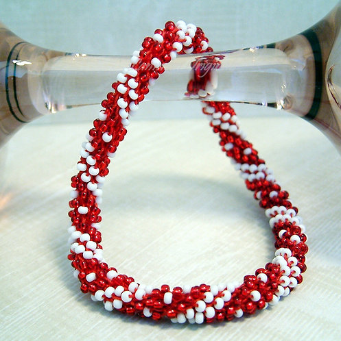 Bead Crochet Bracelet, Dotty In Love