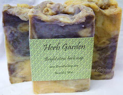 Spring Soap Herb Garden Lemon Dill Cinnamon