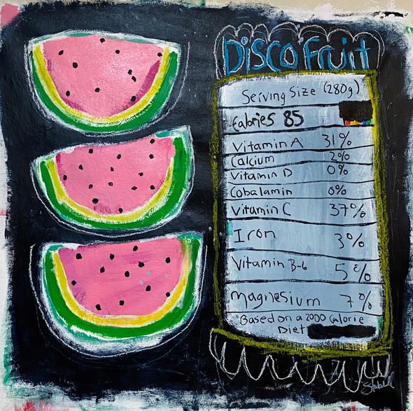 Disco Fruit | Acrylic
