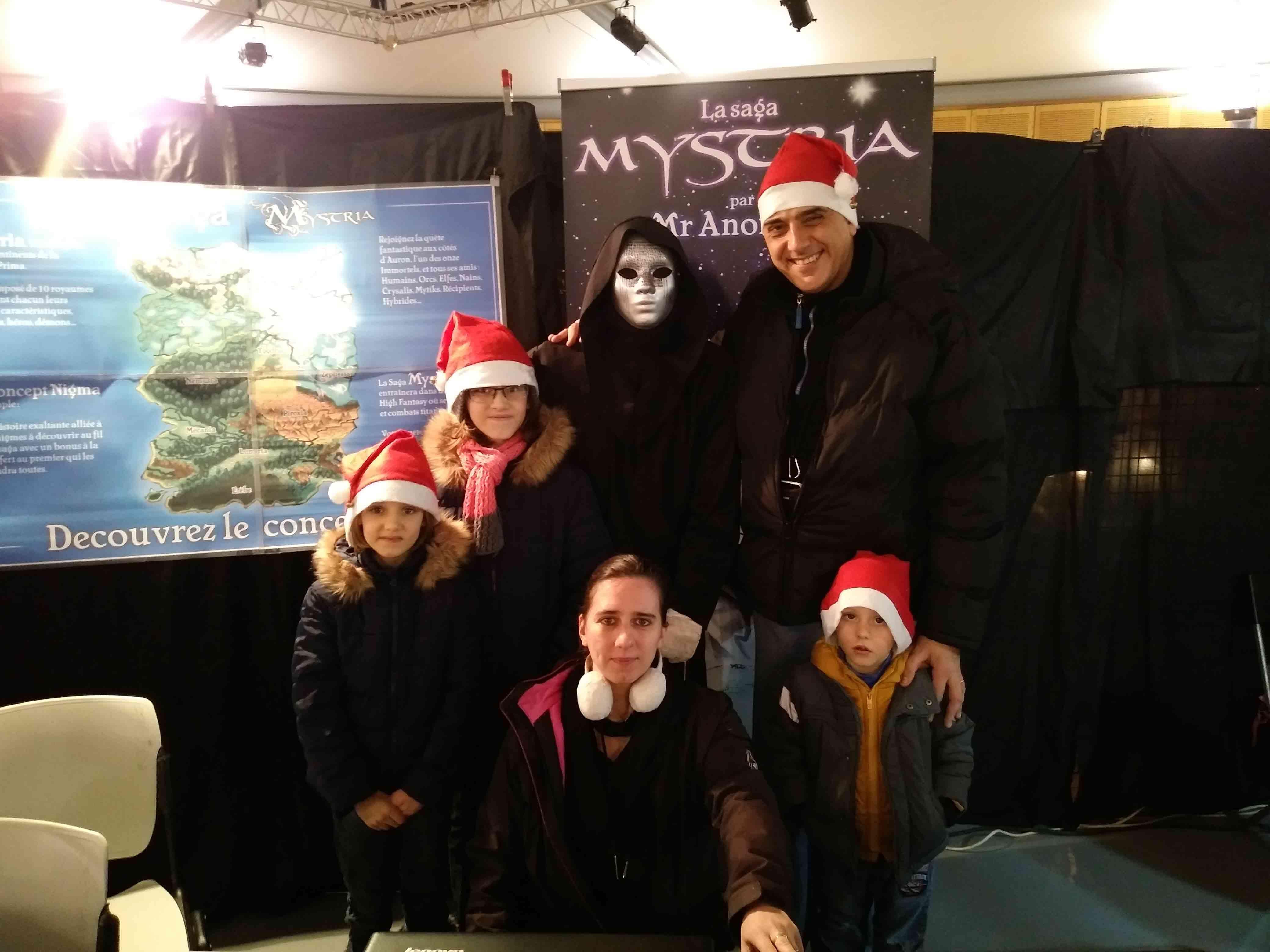 Mystriens en famille