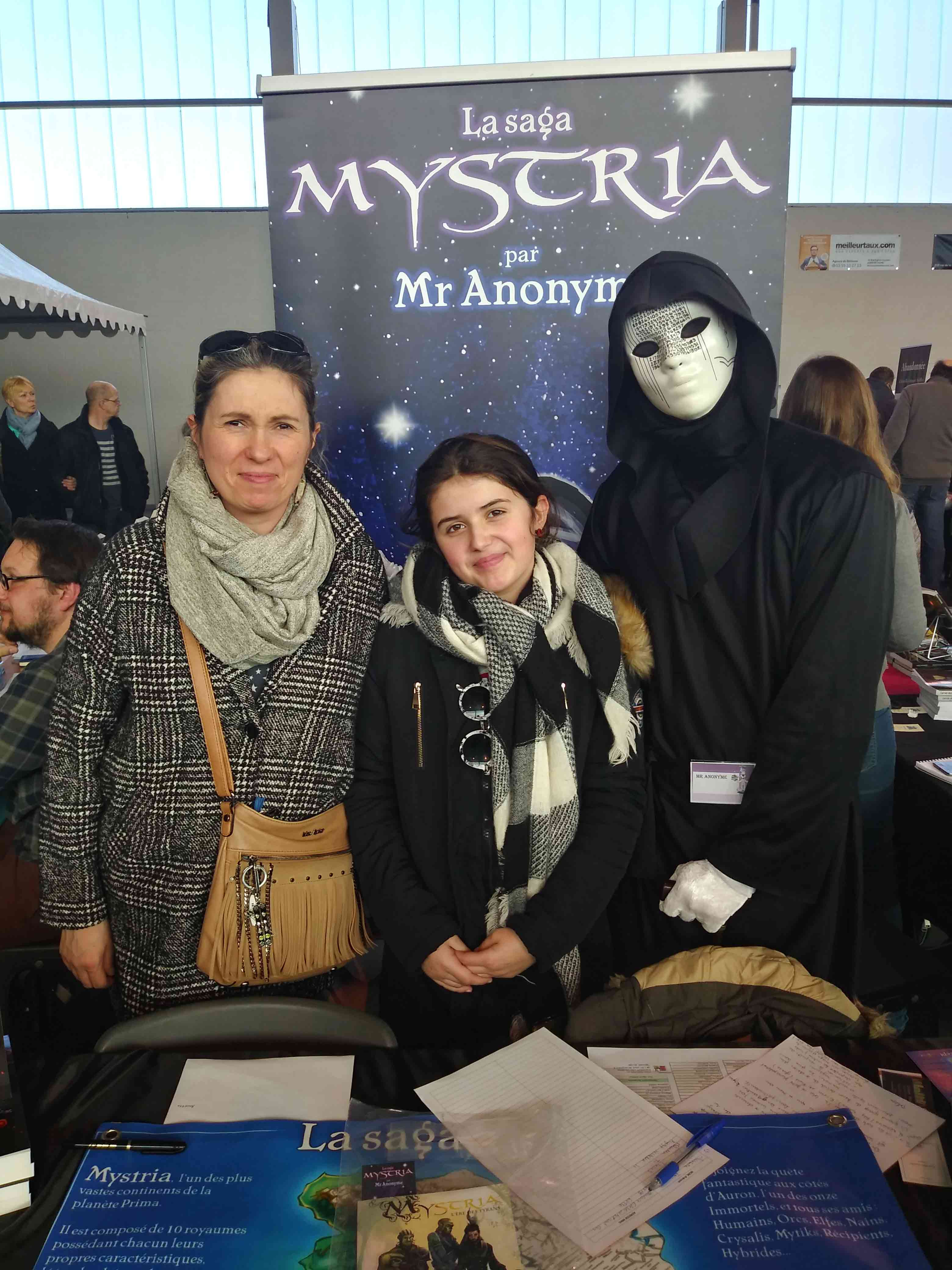 Mystriennes en famille