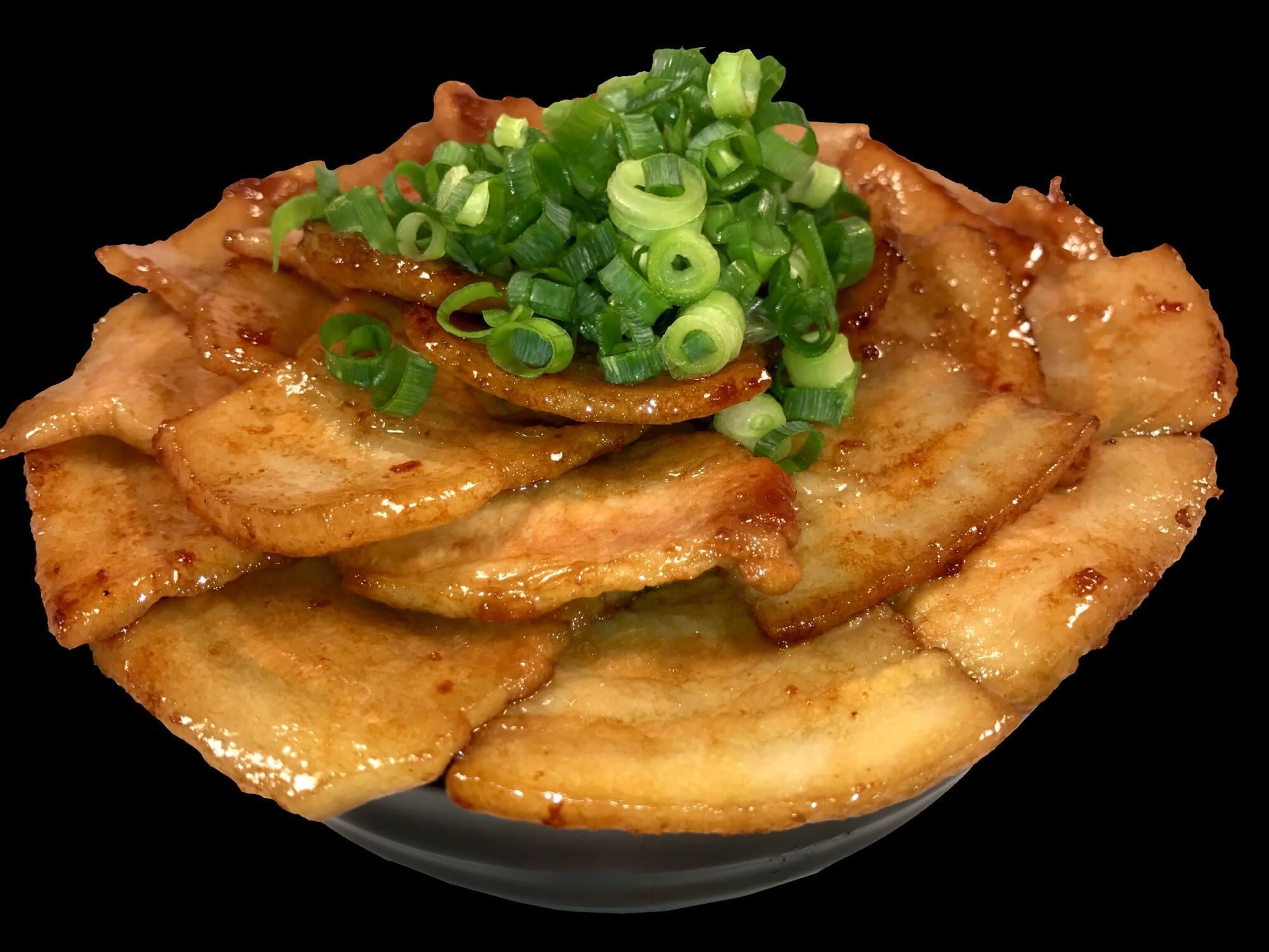 帯広黄金豚丼のコピー