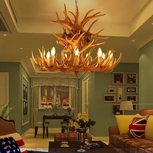Deer Lamp Vintage