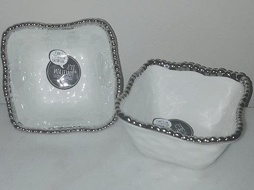Rectangular Porcelain Bowls