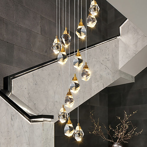 Modern Luxury Crystal Pendant Light