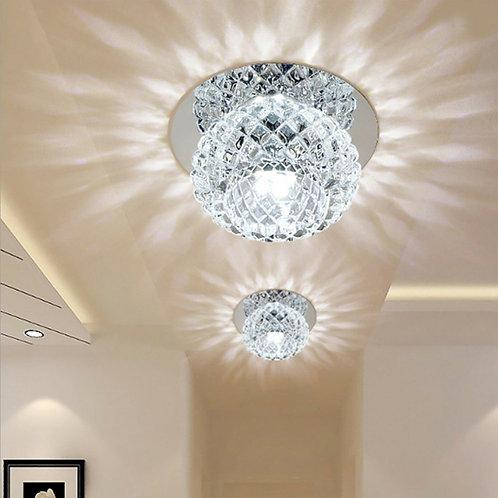Modern LED Crystal Ceiling Light 5W AC110-220V
