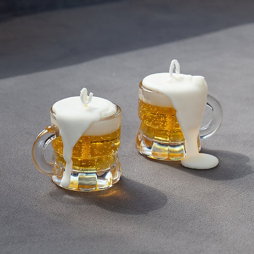 Beer Modeling Cup Candle Tabletop Decoration