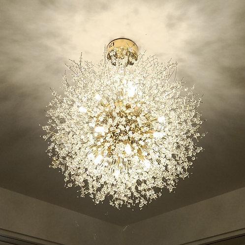 Modern Crystal Dandelion Chandelier Lighting
