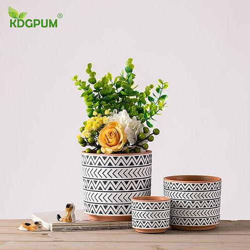 Modern Handmade Ceramic Flowerpot