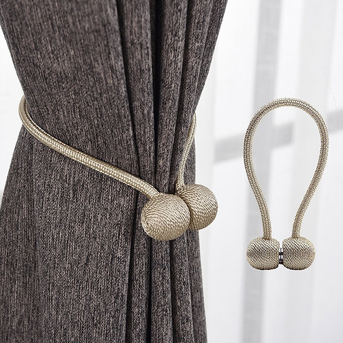 Magnetic Pearl Ball Curtain Tiebacks