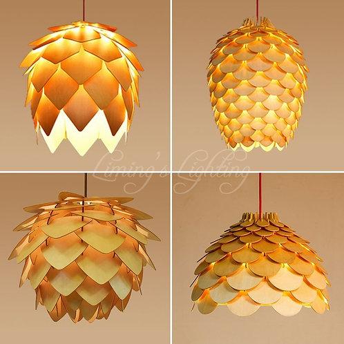 Modern Wooden Pendant Lights