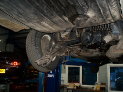 Axle and running gear