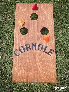 Location jeu en bois - cornole - Normandie