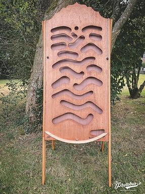 Location de jeux en bois en Normandie - le monte bille