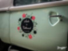 sticker personnalisé The Photobus