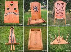 Location jeux en bois - Normandie
