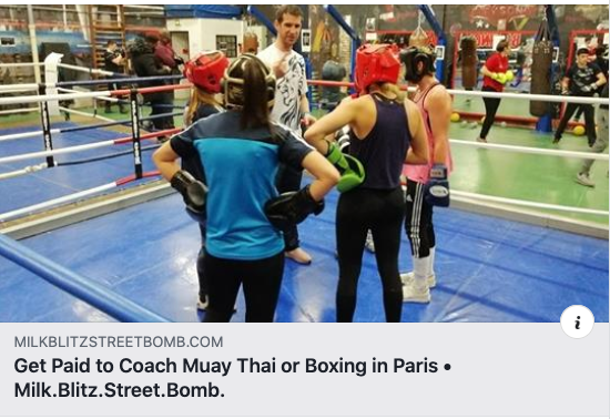 Home » Get Paid to Coach Muay Thai or Boxing in Paris Get Paid to Coach Muay Thai or Boxing in Paris