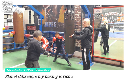 My Boxing is Rich - Planet Citizens Sain